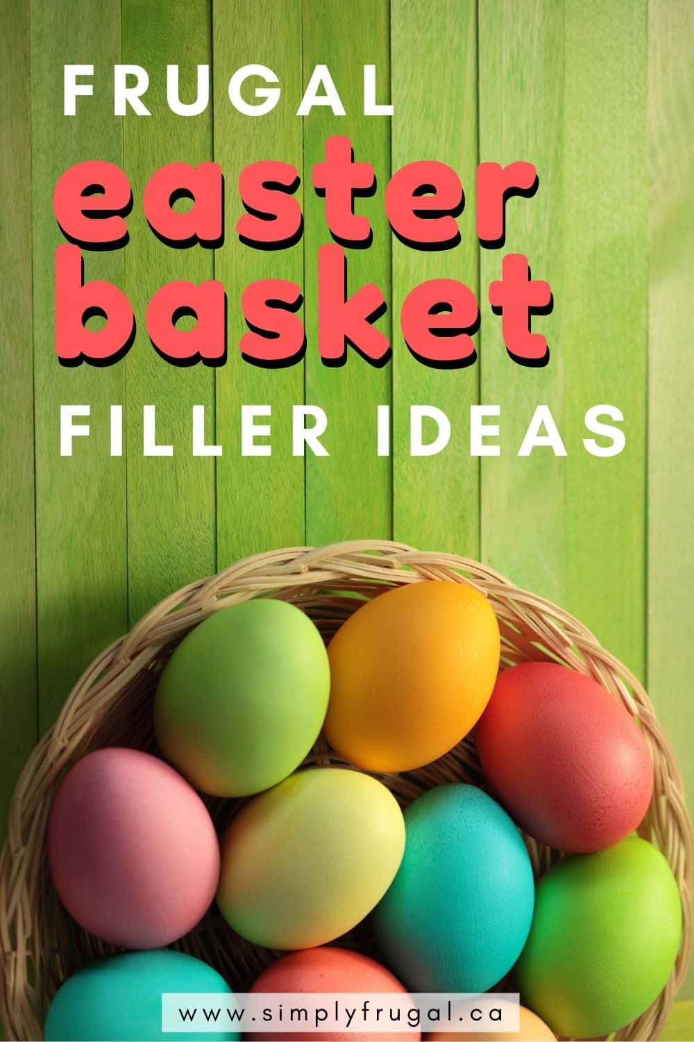 Easter basket filler ideas. 30 Fun and Frugal Easter Basket Filler Ideas you're going to love!
