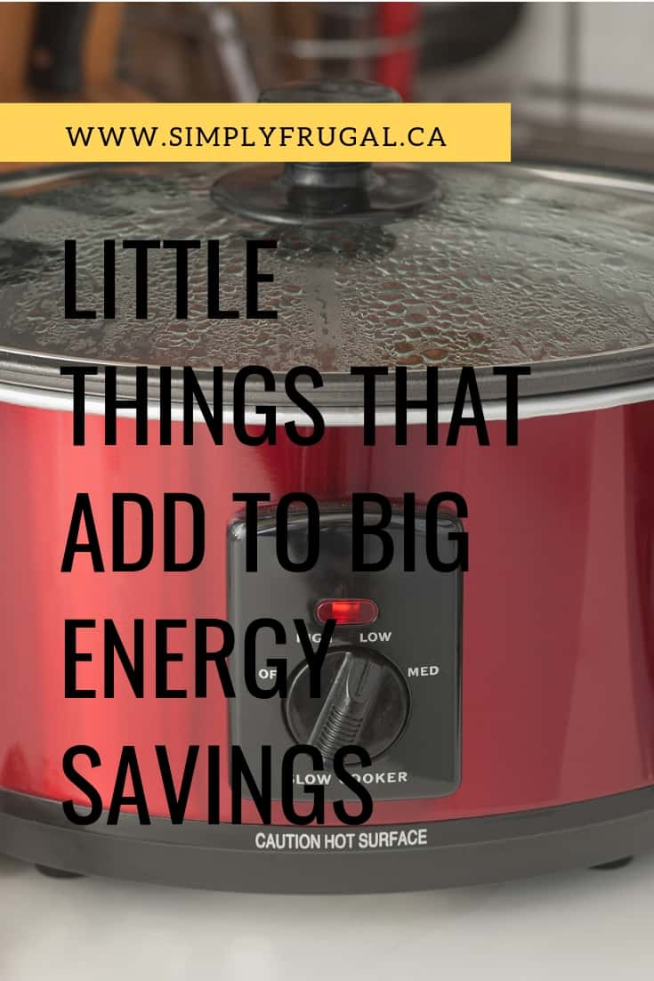 It doesn't have to take a lot of effort to see your energy bill go down. In fact, there are many little things that you can do that will add up to BIG energy savings! Take a look!