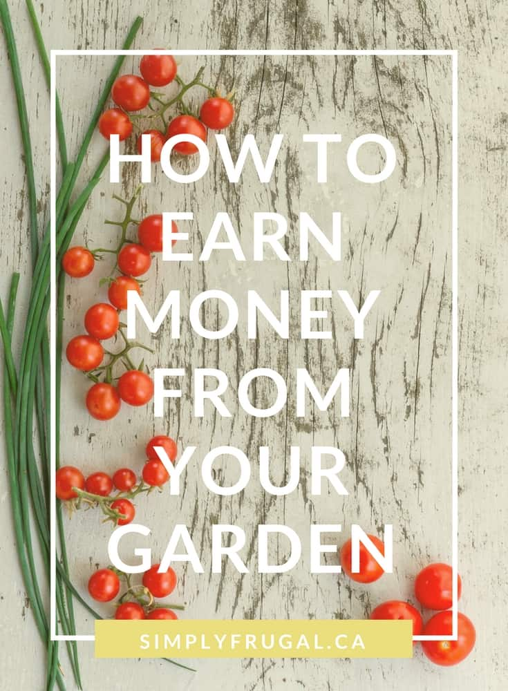 Earn Money from your Garden