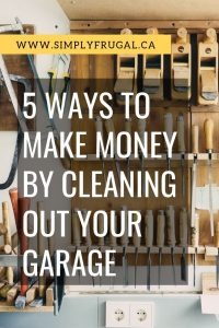 Is your garage stacked to the ceiling with stuff? If so, it might be time to give it a good cleaning. Cleaning out your garage can not only give you more space in your home, but can also net you some cash in your pocket! Take a look at these 5 ways to make money by cleaning out your garage.