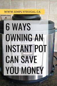 If you're looking for Instant Pot Tips, you'll love these ideas on how owning an Instant Pot can save you money! #instantpot #instantpotips #ip