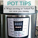 6 Ways Owning an Instant Pot Can Save You Money
