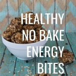 Healthy No Bake Energy Bites
