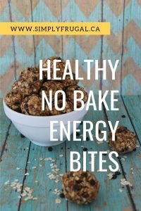 These Healthy No Bake Energy Bites come together really easily and are sure to satisfy your snack craving!