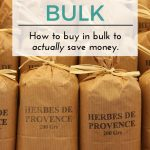 How to Buy in Bulk to Save Money