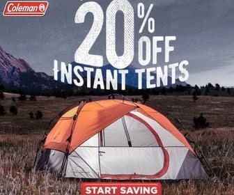 coleman canada tents