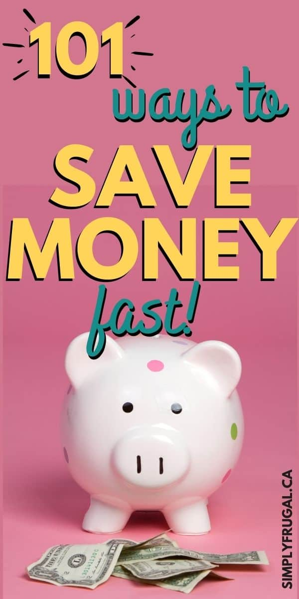 These 101 ways to save money fast will help you to always get the best deal, and still have the things you need AND want.