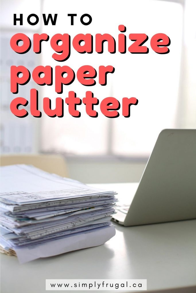 These paper clutter organization ideas are life changing! I'm going to implement the third suggestion right away. Finally, organize paper clutter once and for all!