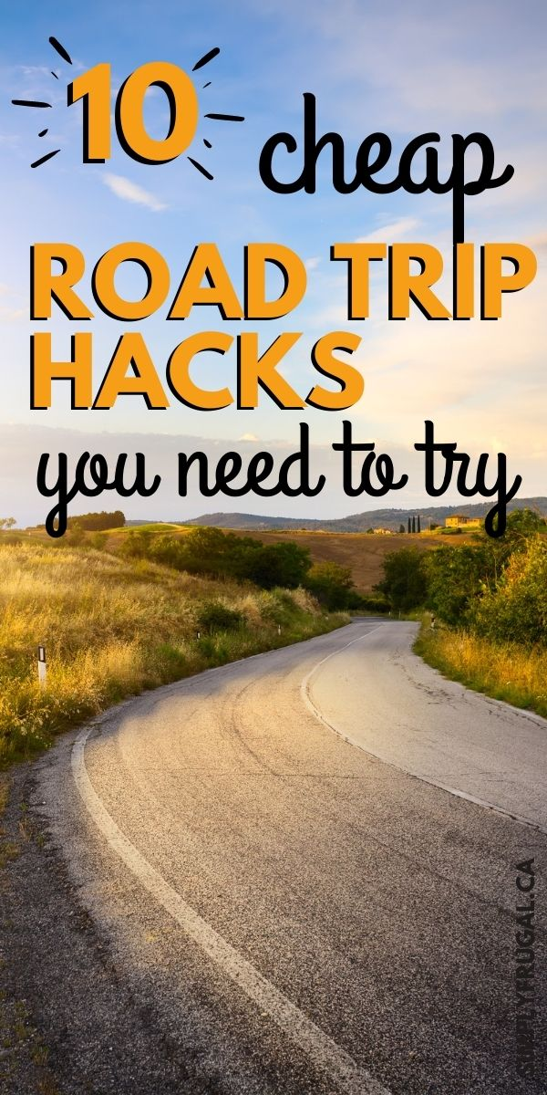 Cheap road trip hacks that you rally need to try to ensure a successful trip with kids!