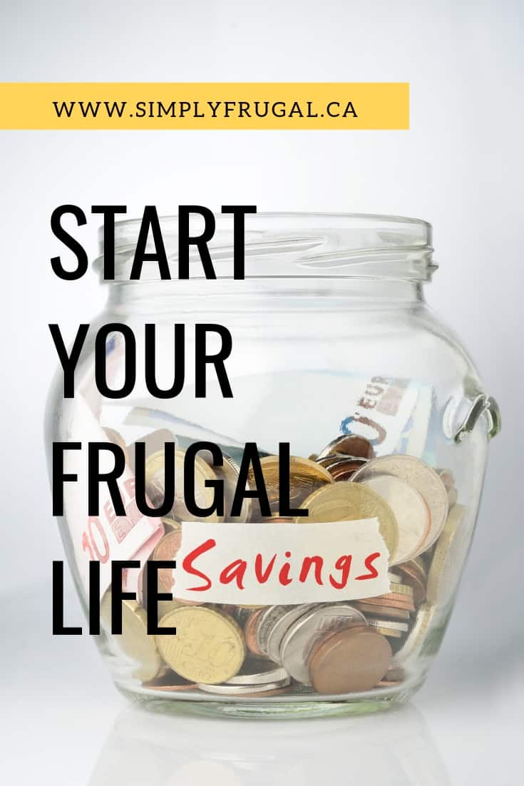 5 tips your should know to help you start your frugal lifestyle.