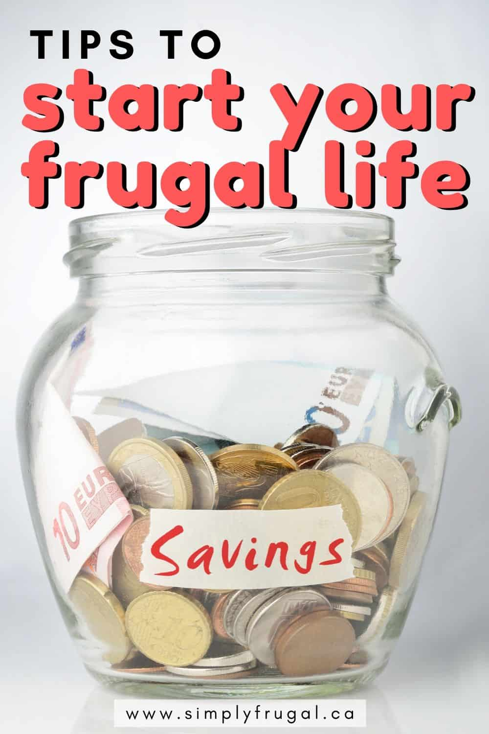 Are you looking to start living frugally? You're not alone. These 5 frugal living tips are perfect for getting your frugal lifestyle started.