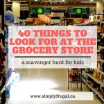 40 Things to Look for at the Grocery Store