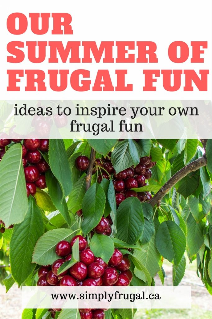 Ideas to inspire your own frugal fun