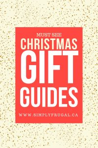 Christmas Gift Guides -- The best gifts for everyone on your list!