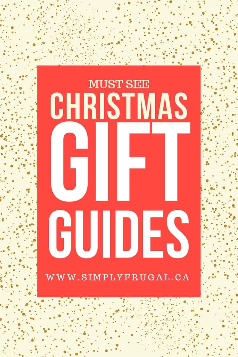 Christmas Gift Guides -- The best frugal gifts for everyone on your list! #giftguides #gifts #christmas