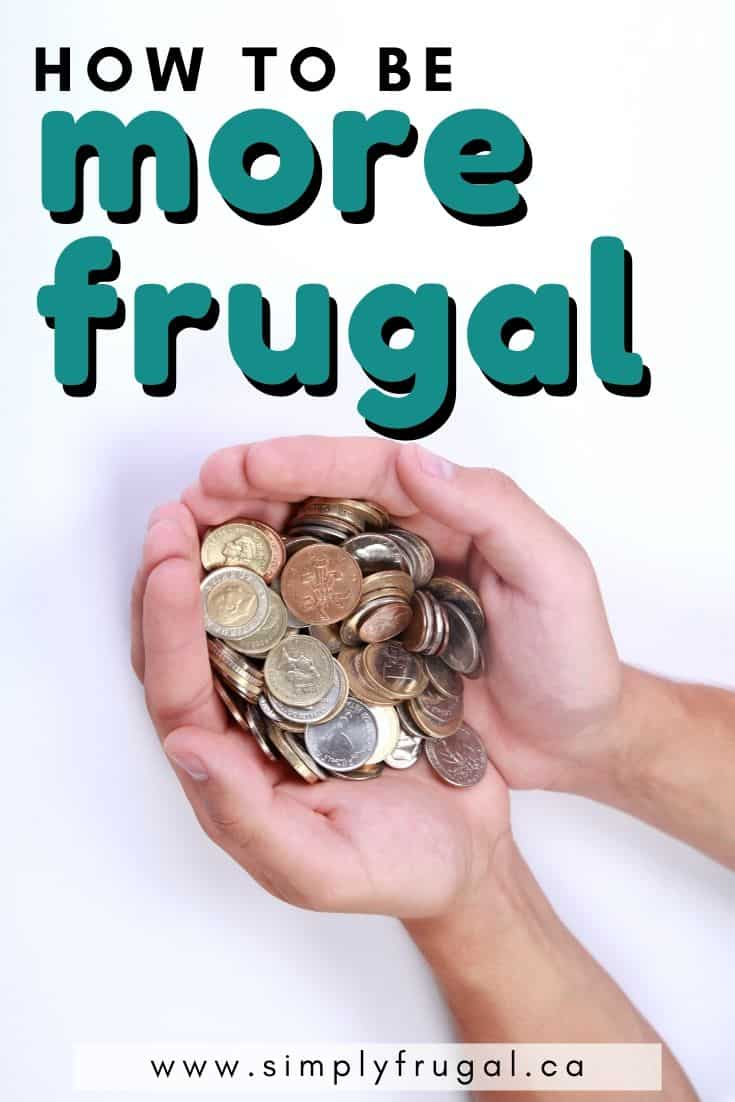 Does your wallet need a boost? Here are 5 ways you can be more frugal today. #howtobefrugal #frugalliving #moneysavingtips #simplyfrugal