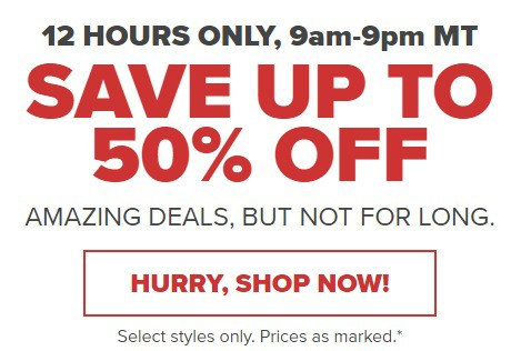 6eb6649da Crocs Canada is having a surprise sale! But you have to be quick because it  ends tonight at 9pm MT. You ll find amazing deals and prices up to 50% off!