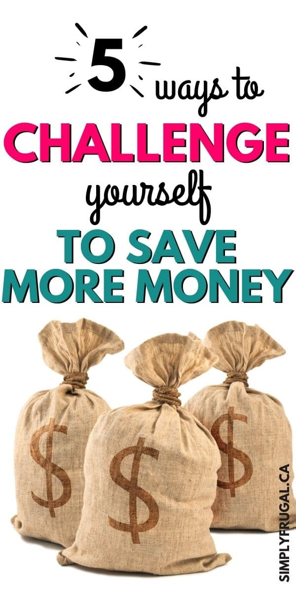 Now here are some great tips and ideas for challenging yourself to save money this year. Number 3 is always a work in progress for me!