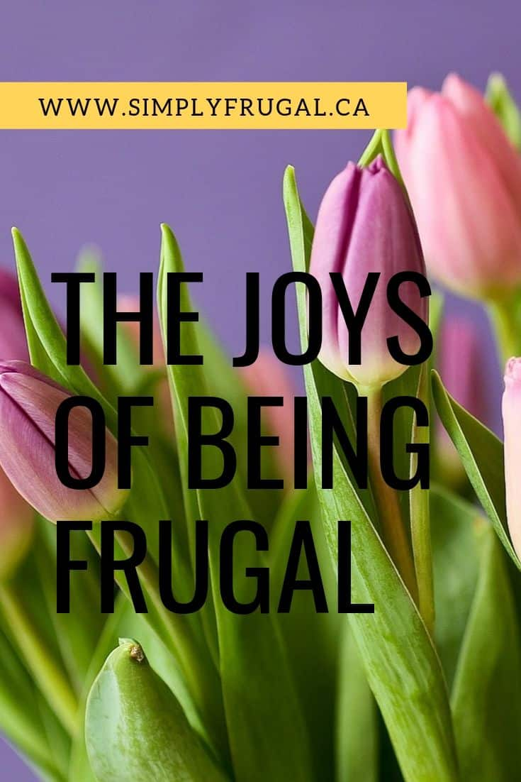 Yes, it is possible to find happiness in the frugal lifestyle! I'm loving these reasons for why you will find joy in being frugal.