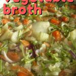 Want to learn how to make vegetable broth? Here's how to make vegetable broth using the scraps from your kitchen. So simple and frugal!