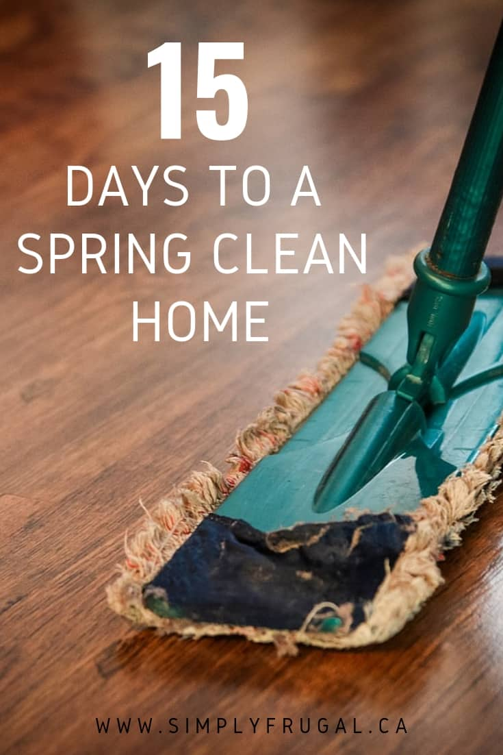 15 Days to a Spring Clean Home