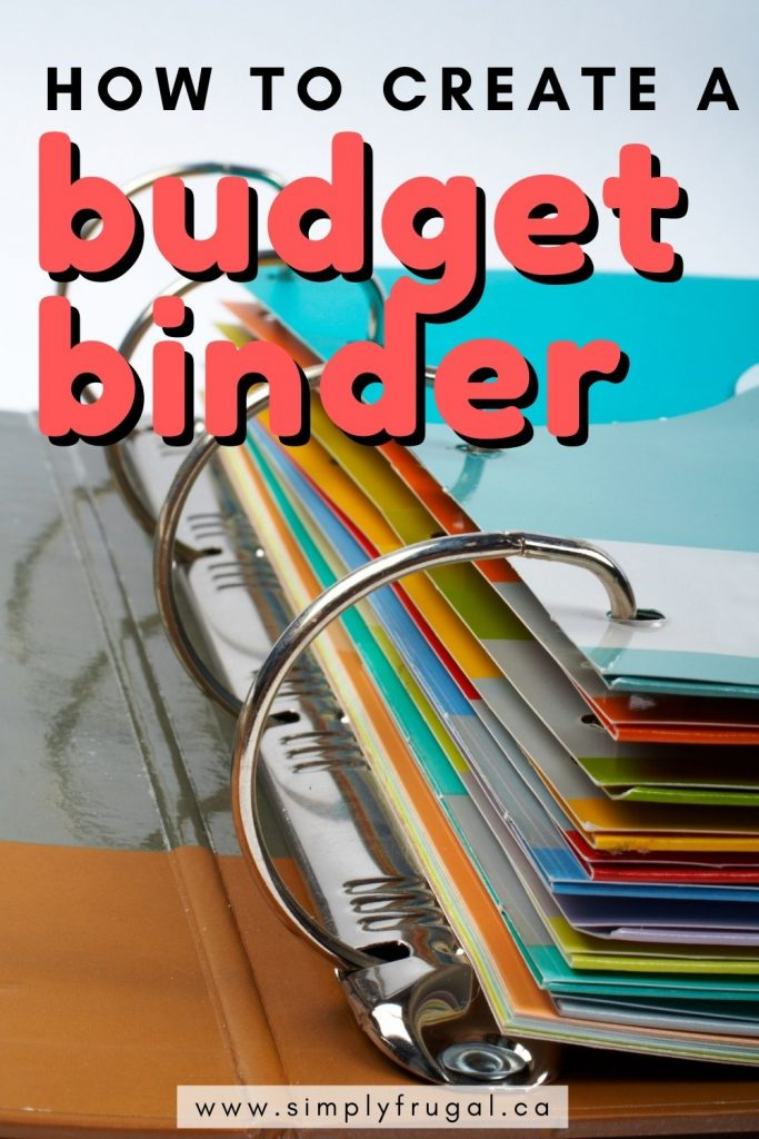 Setting up a Budget Binder is a great strategy for staying on top of your finances. Here's how to create a budget binder!