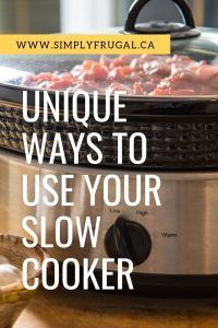 Slow cookers are generally known for their skills at creating delicious stews and tender meats. But your slow cooker can do so much more! Read on to discover five unique ways to use your slow cooker.