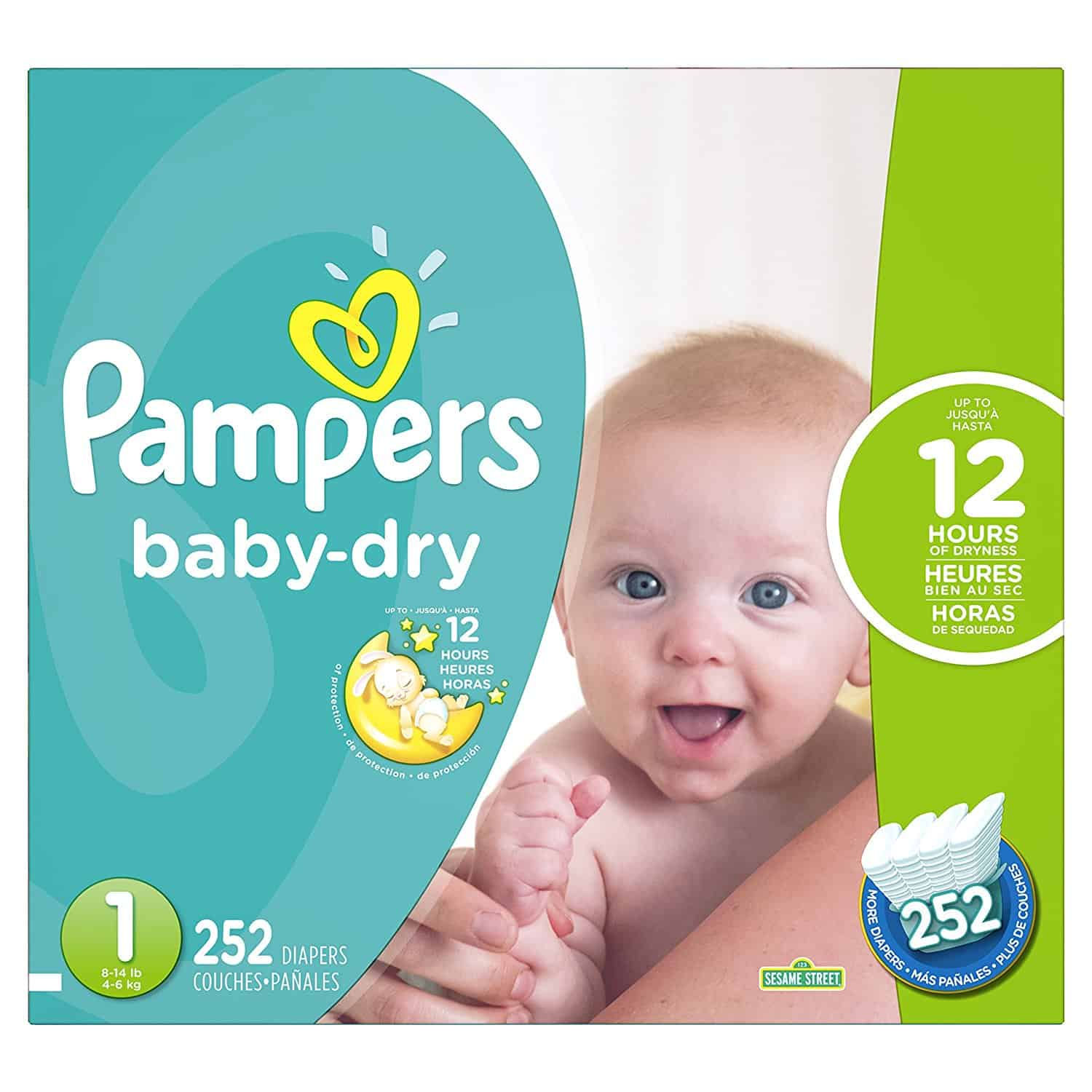 Pampers Baby Dry Diapers Largest Box as Low as $26.78