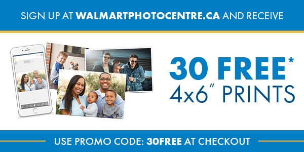 30 Free 4x6 Prints From Walmart Photo Centre