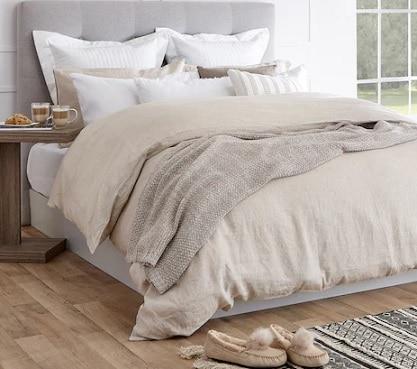 Linen Chest bedding sale