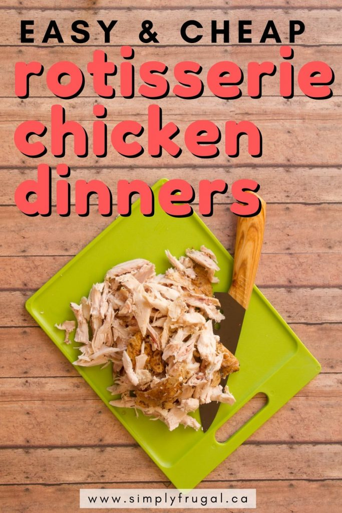 Time and time again, grocery store rotisserie chickens have saved my sanity when it comes to dinner time. They are easy, already seasoned, already cooked, and can be used in a lot of different recipes. Here are some easy and cheap recipes using rotisserie chicken!