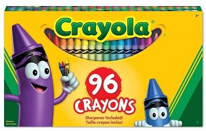 crayola 96 crayons 43 off