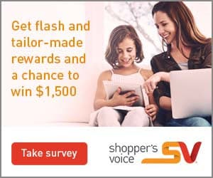 New Shopper's Voice Survey Available (Free Coupons!)