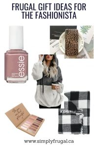 Frugal Gift Ideas for the Fashionista! $30 or less!