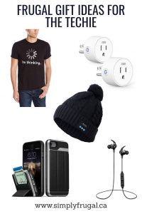 Frugal Gift Ideas for the Techie - $30 or Less!