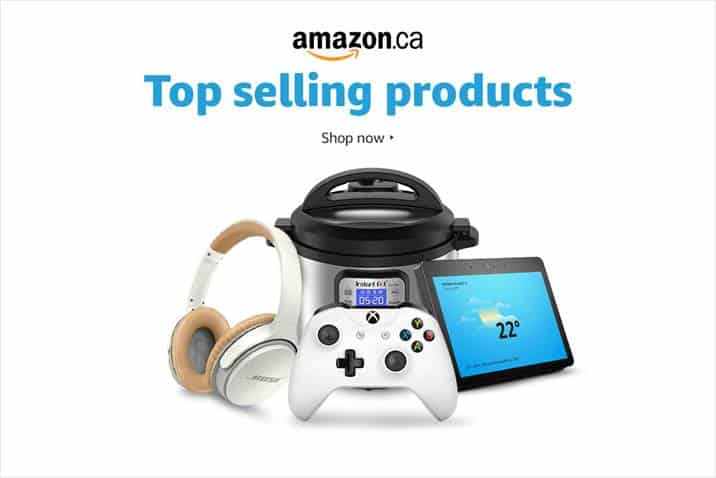 Amazon Top Selling Products