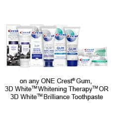 graphic regarding Gillette Printable Coupon known as Refreshing Printable Discount coupons for Crest and Gillette -