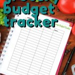 Do you want to save more money on groceries? This FREE Grocery Budget Tracker will help you make a grocery budget that you can stick with!