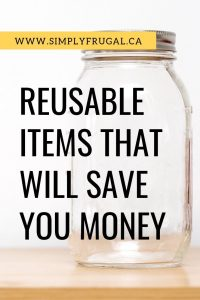 By simply switching out one disposable product for a reusable product, not only will it have a positive impact on our planet, it will also have a positive impact on your wallet!