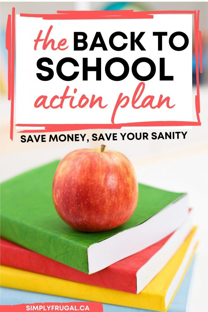 Back to school Tips and tricks plan
