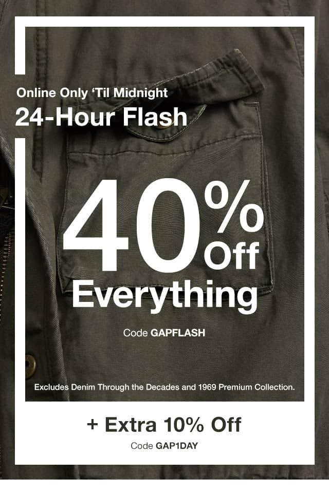 Gap Canada coupon code
