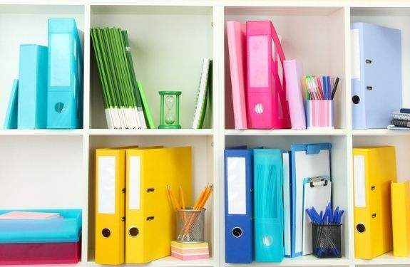 home organization tips from the dollar store