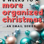 Tired of the stress each holiday season brings around? This year, banish your dread and come along for an 8 week series for a more organized Christmas season!