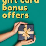 Shop at these places if you're looking for a Christmas Gift Card Bonus Offer in Canada!