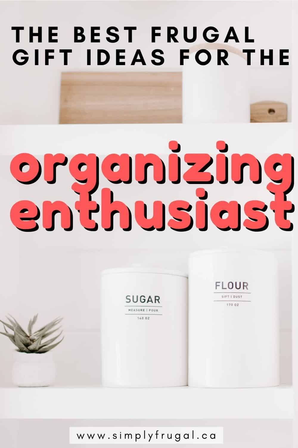 This gift guide is sure to give you some practical, but fun, ideas for the organizing enthusiast! Everything listed is very affordable too!