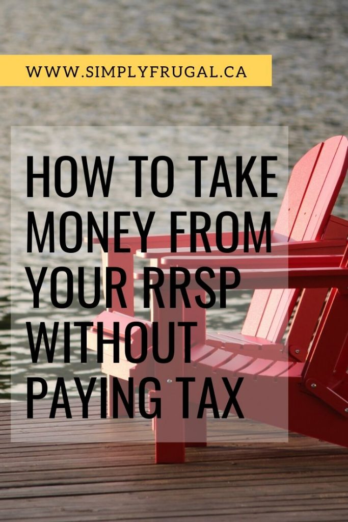 Sometimes, you CAN take money out of your RRSP without penalty. But you have to pay your RRSP back – or pay the tax.