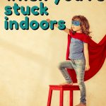 Here is a great list of free indoor activities and ideas that you can enjoy as a family or even virtually with others!