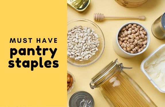 This list of 18 food items that you should always keep in your pantry, will help you create frugal, healthy, and quick meals.