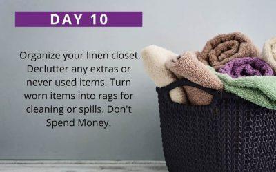 No Spend Declutter Challenge: Day 10