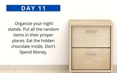 No Spend Declutter Challenge: Day 11